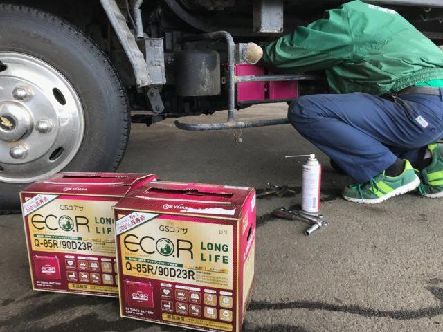 バッテリー 交換 トラック 方法 費用