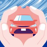 台風で車が被害に遭ったら保険は使える?等級は下がる?