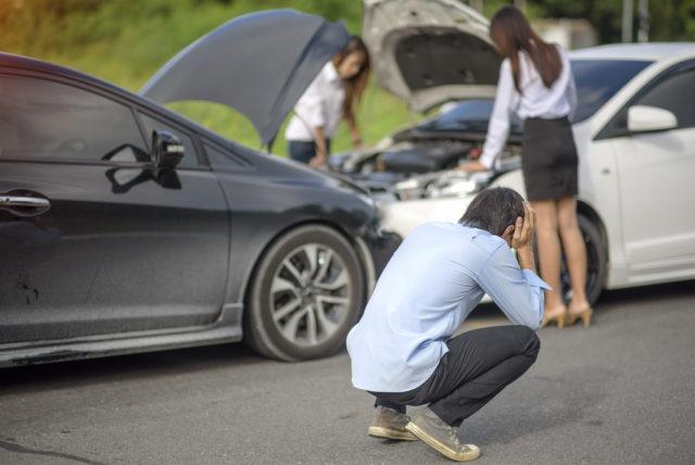 車 事故 修理代 修理しない